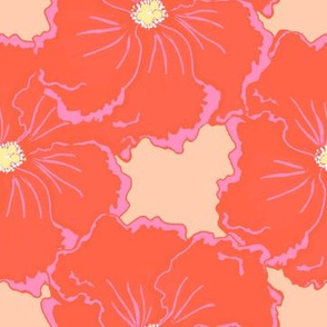 big bold hibiscus