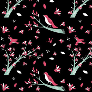 Birds and Blooms
