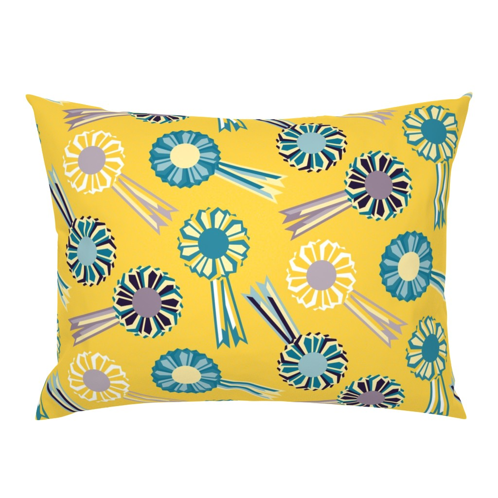 Campine Pillow Sham featuring Rosette The Table by seesawboomerang