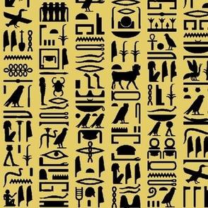 Egyptian Hieroglyphics - Sand // Small