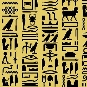 Egyptian Hieroglyphics - Sand // Large