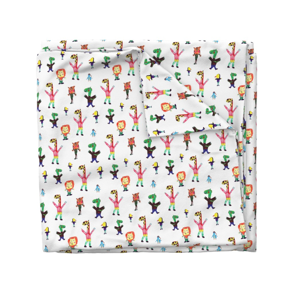 Wyandotte Duvet Cover featuring Lucys animals by lucy_&_me