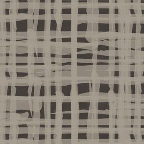 18-08H Brown linen