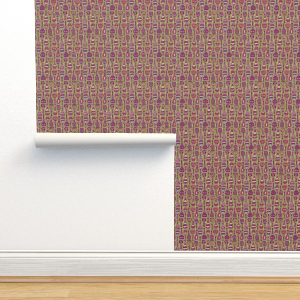 Isobar Durable Wallpaper featuring Magic Bottles by leiah