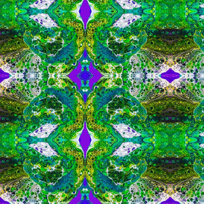 Green Alien Brain Cells (small print)