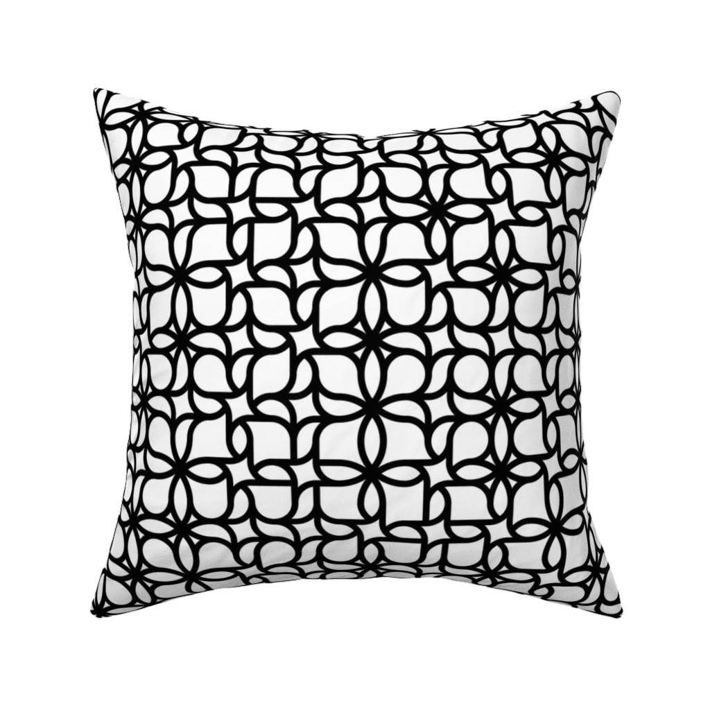 Catalan Throw Pillow featuring Set 01/0023 by contrast
