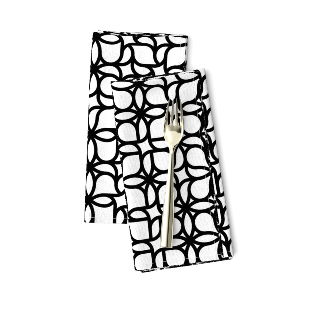 Amarela Dinner Napkins featuring Set 01/0023 by contrast