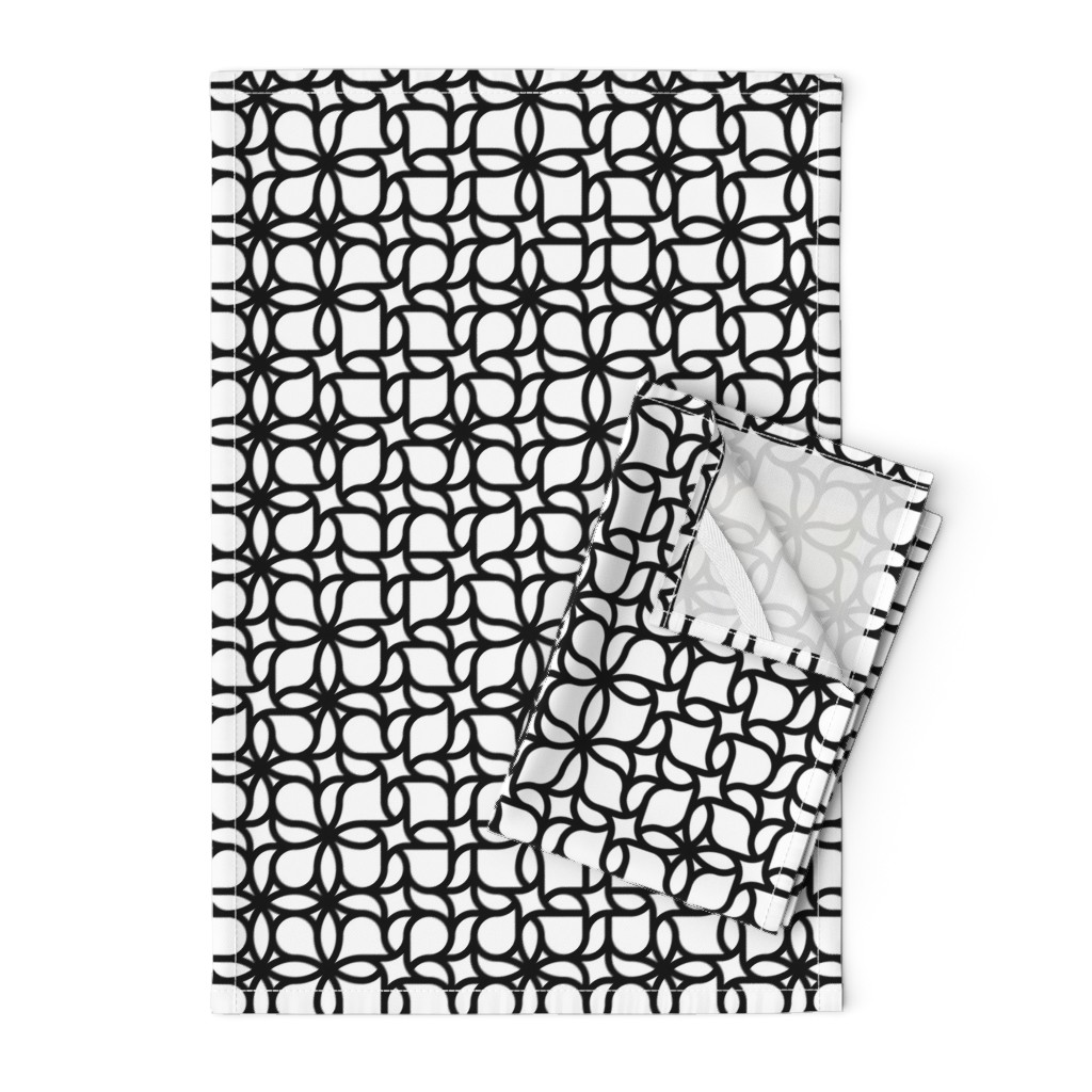 Orpington Tea Towels featuring Set 01/0023 by contrast