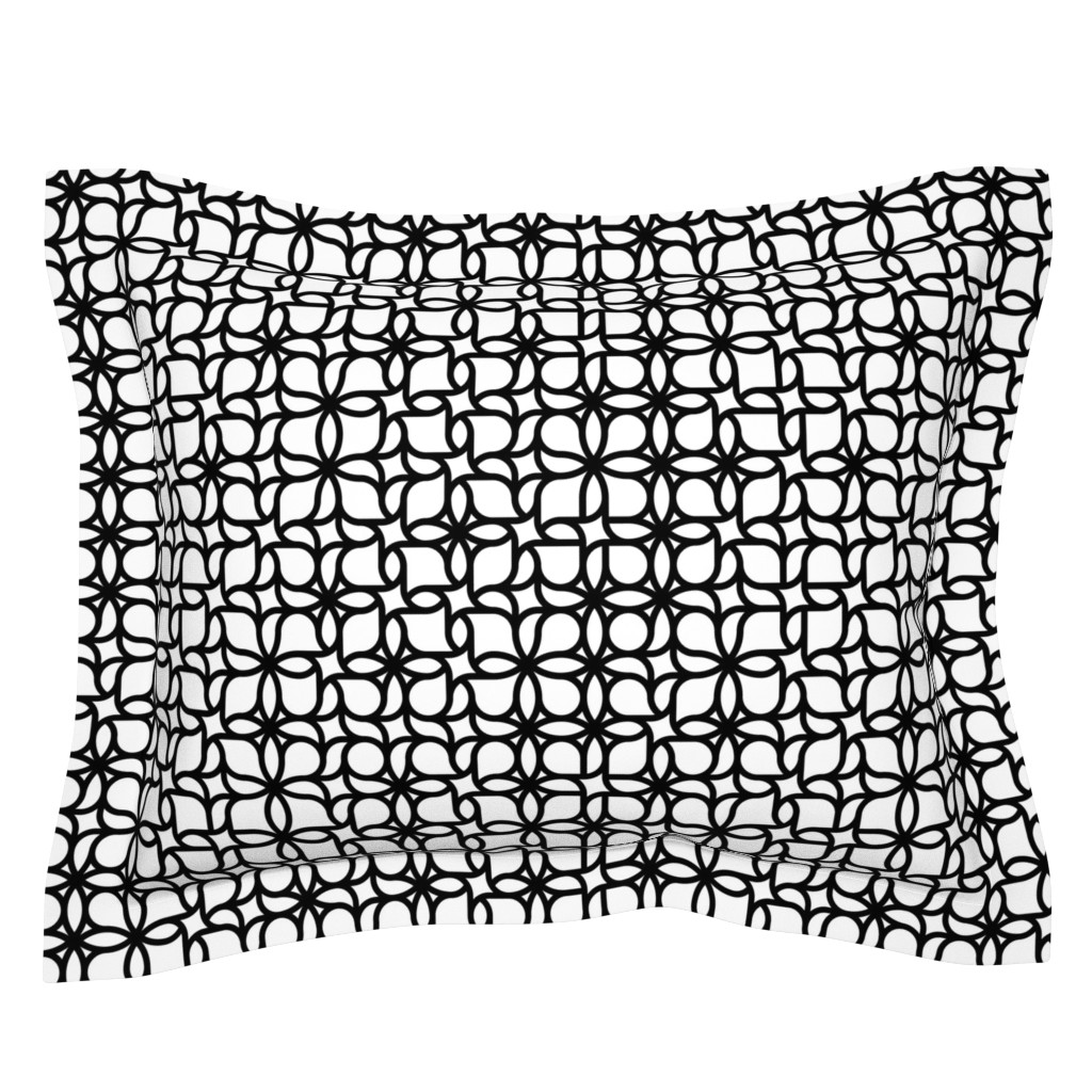 Sebright Pillow Sham featuring Set 01/0023 by contrast