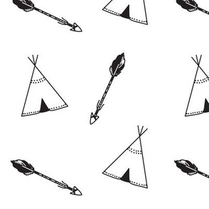 Tipi's and Arrows
