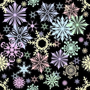 Darkest Night Lightest Snow