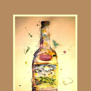 Message in a Bottle-darker - forWINE-gift_bags