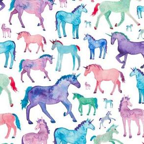 Pastel Unicorn Pattern