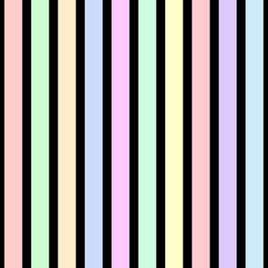 Snowy Night Stripes