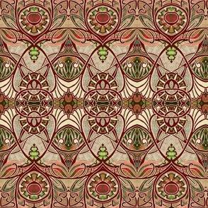 Victorian Gothic (brown/tan negative)