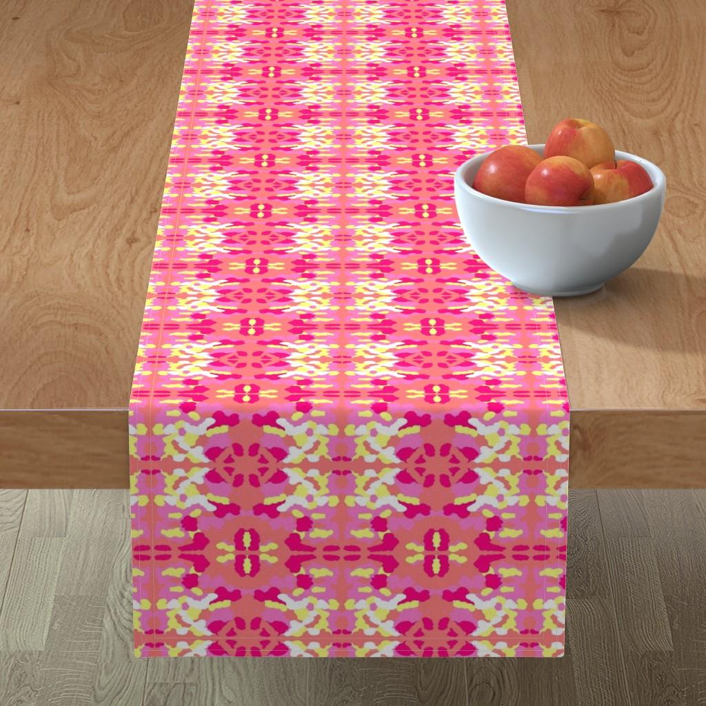 Minorca Table Runner featuring Maridadi 1 by tabasamu_design