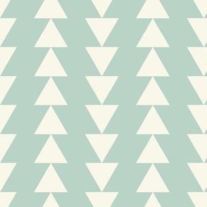 Arrows - Ivory, Aqua
