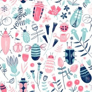 bugs and flowers | small