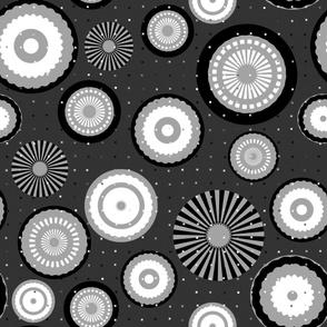 Monochrome Circles