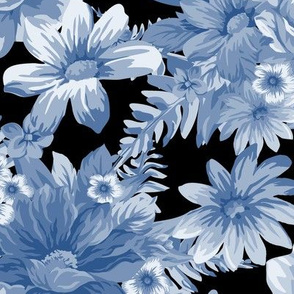 Vintage Dream Cerulean Black ©Julee Wood