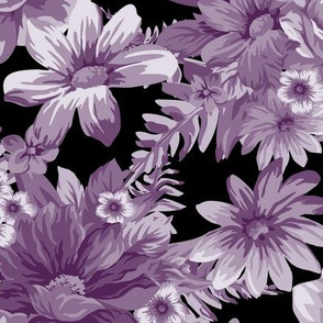 Vintage Dream Aubergine Black ©Julee Wood