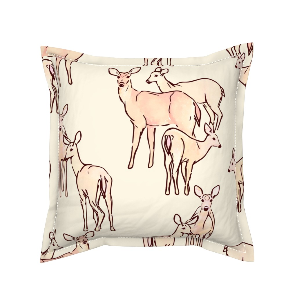 Serama Throw Pillow featuring Puget Sound Pastoral - Large Scale by elisabethnoel