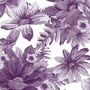 Vintage Dream Aubergine White ©Julee Wood