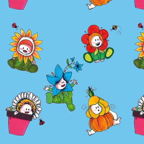 Baby Flowers - for boy