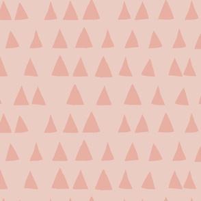 love triangle light pinks