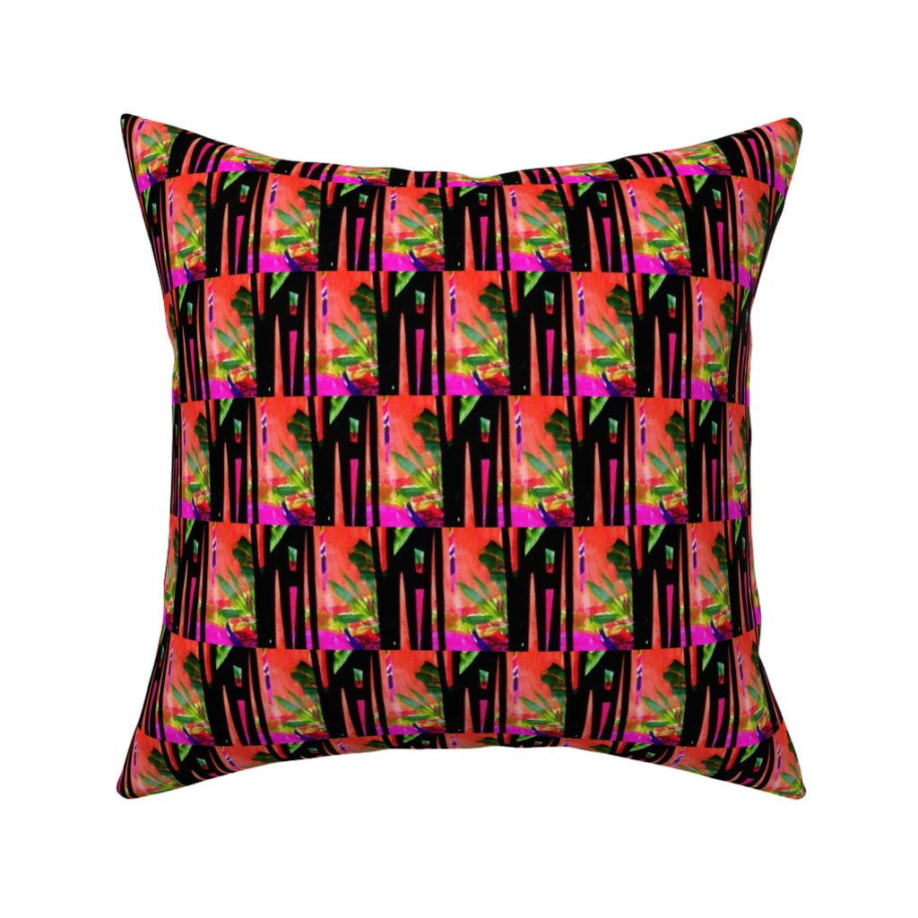 Catalan Throw Pillow featuring Hatari 5 by tabasamu_design
