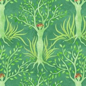 Sisterhood: Gaia universally nurturing growth
