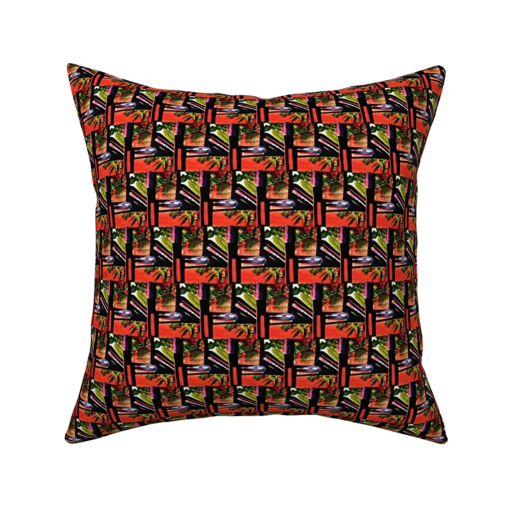 Catalan Throw Pillow featuring Hatari 9  by tabasamu_design