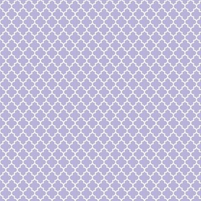 quatrefoil light purple - small