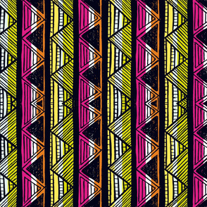 African Stripes 5/ Vertical