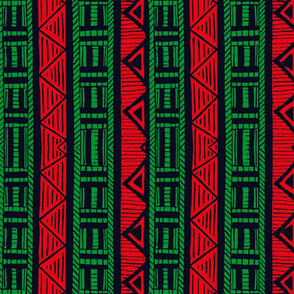 African Stripes 4/ Vertical