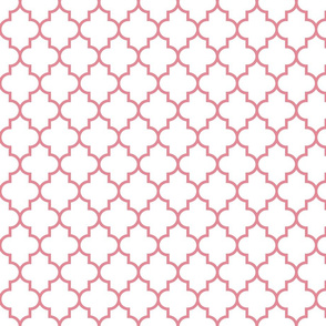 quatrefoil MED berry cream on white