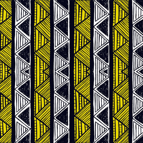African Stripes 3/ Vertical