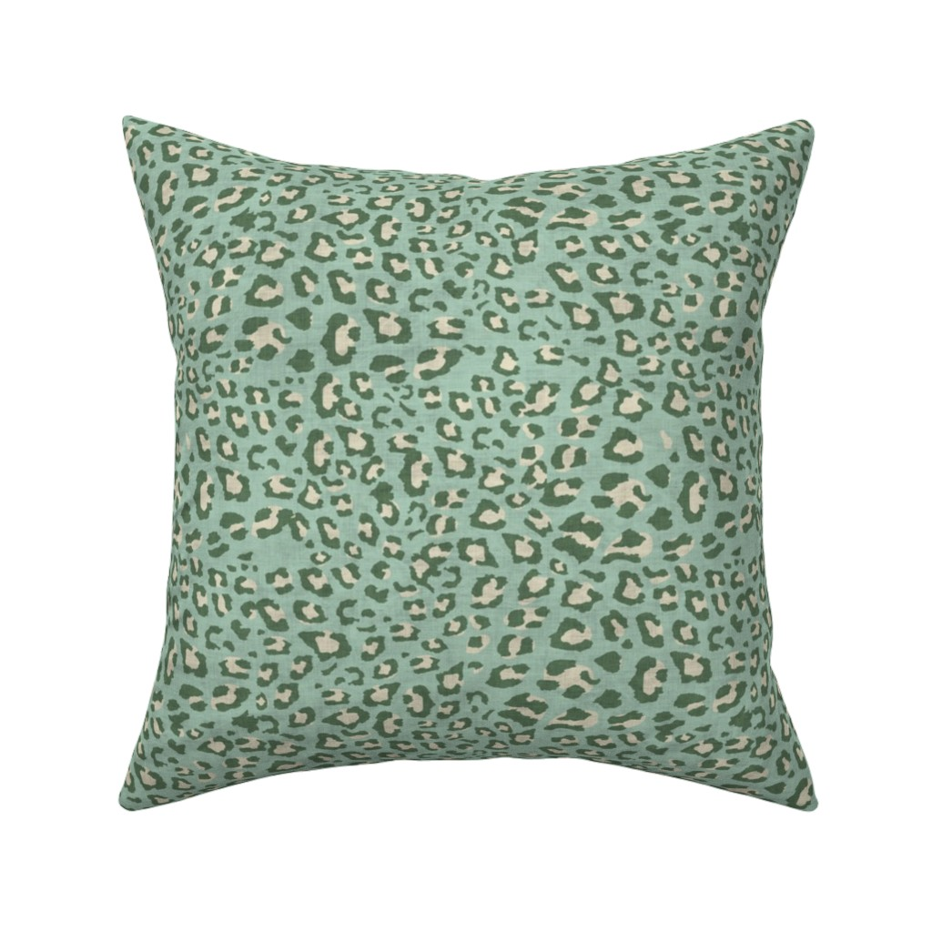 Catalan Throw Pillow featuring PETRA LEOPARD by holli_zollinger
