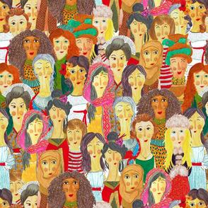 Pattern #75 - The gaze of sisterhood