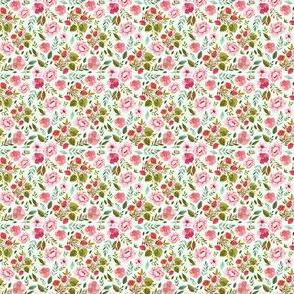 """1.5"""" Strawberry Fields - Minty Green"""