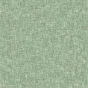 solid light sage green linen