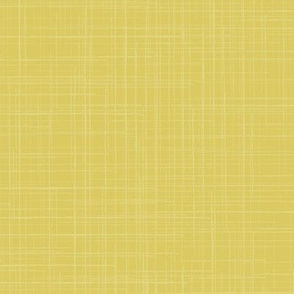 Gold Muted Chartreuse Yellow Green Texture Linen Solid || Large Scale Woven White _ Miss Chiff Designs