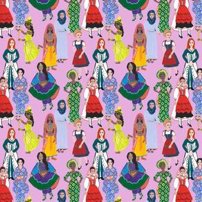Women of Earth in Pink