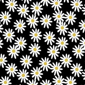daisy // daisies flowers florals flower black and white simple 90s design small