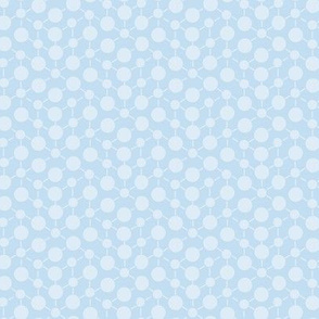 Periwinkle Blue Purple Textured  Solid || Geometric Math Dots Spots White _ Miss Chiff Designs