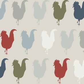farmhouse chickens
