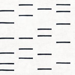 DENIM LINE WHITE MUDCLOTH ROTATED