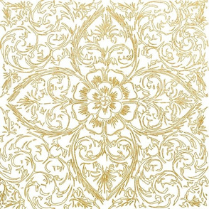 gold lotus flower gold lace gold medallion