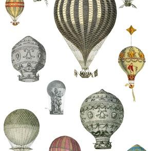 The History of Hot Air Balloons