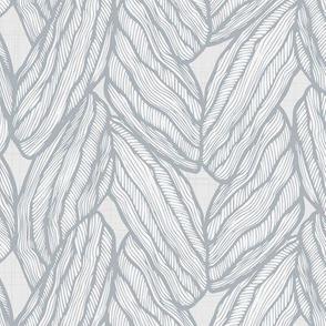 Knitting - Stitched Grey